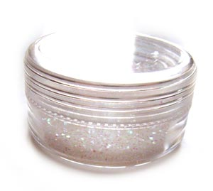 Small Glitter Container 2g - Opal - Crystal AB