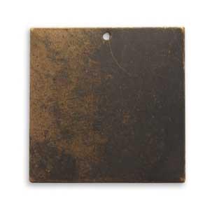 Vintaj Natural Brass 29mm Altered Blank Square x1