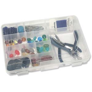 Beadsmith Bead Storage Plastic Organiser Boxes (No Contents)