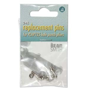 Replacement Pins for Beadsmith 1.25mm Hole Punch Plier