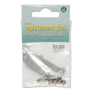 Replacement Pins for Beadsmith 1.5mm Hole Punch Plier