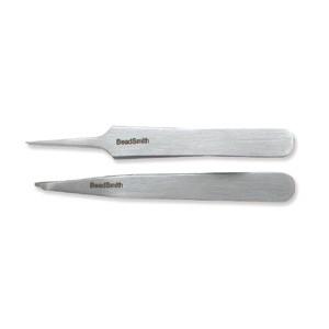 Tweezers ~ Mini Set Split Ring Tweezer and  #5 ~ Jewellers Tool