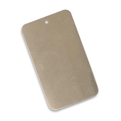 Vintaj Artisan Pewter 40x23mm Metal Blank Rectangle x1