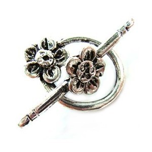 Bali Style Frangipani Flower Toggle x3 sets