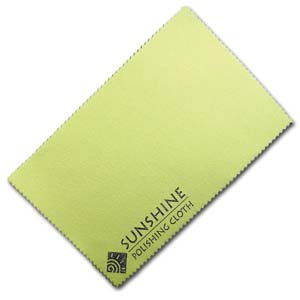 Sunshine Jewellery Cleaning Polishing Cloth x1