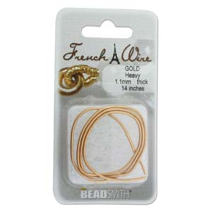 French Wire Bullion Gimp, New Gold Colour, Heavy
