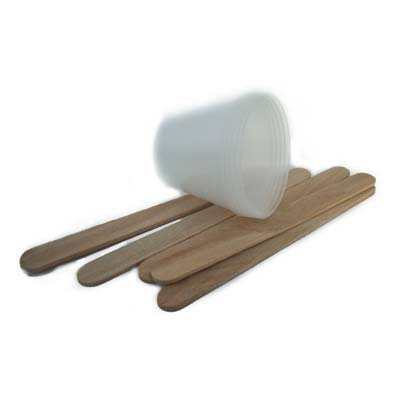 ICE Resin Measuring Cups and Wooden Stir Sticks x5 (Clearance)