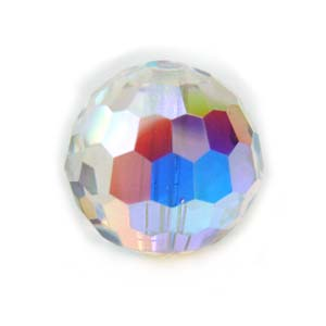 Swarovski Beads 8mm DISCO BALL Crystal AB x1