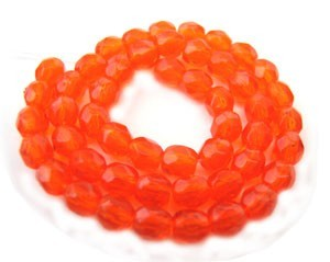 Czech Glass Fire Polished beads - 3mm Hyacinth x50