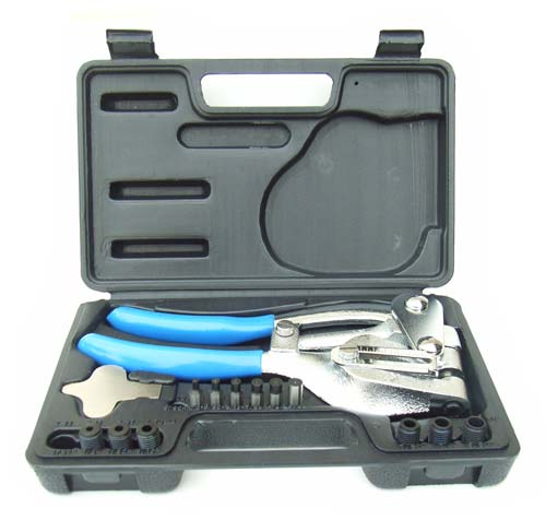 Mighty Power Hole Punch Plier Kit or Pins - up to 16ga