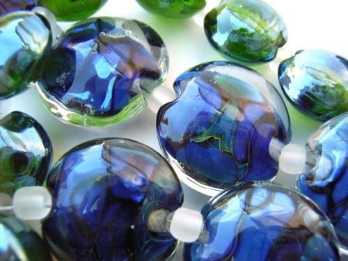The Deep -  Ian Williams Artisan Glass Lampwork Beads