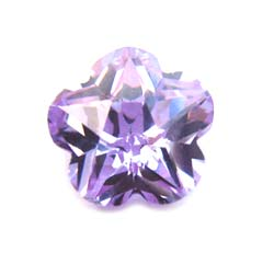 Cubiz Zirconia CZ Flower 8mm - Alexandrite x1