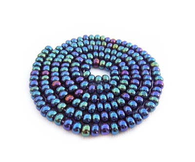 Czech Seed Beads 11/0 Blue Iris mini hank