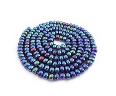 Czech Seed Beads 11/0 Blue Iris mini hank