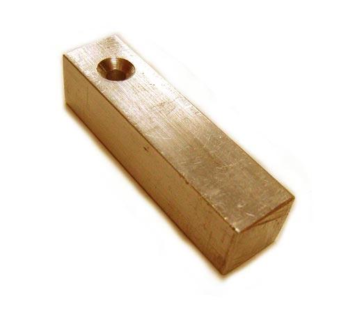 "Brass Square Bar Stamping Blank 3/8"" - 9.5mm"