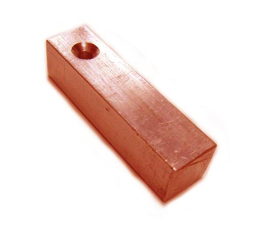 "Copper Square Bar Stamping Blank 3/8"" - 9.5mm"