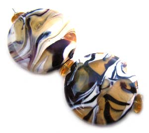 The Safari Set Artisan Glass Lampwork Beads ~ Ian Williams