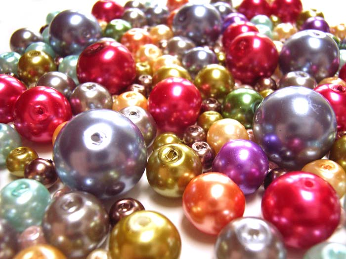 Faux Pearls Glass - 150g Super! Big Bead Soup Mix