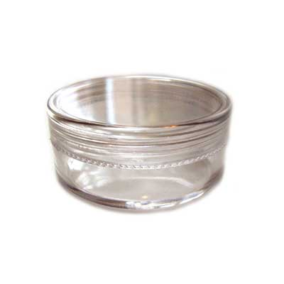 Plastic Storage Container Pot for Beads - 50x21mm