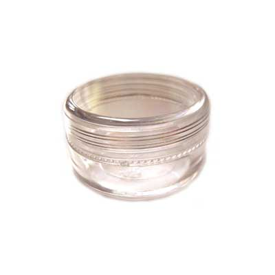 Plastic Storage Container Pot for Beads - 39x21mm