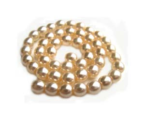 Czech Glass Pearl Beads 3mm Vanilla Pearls x25