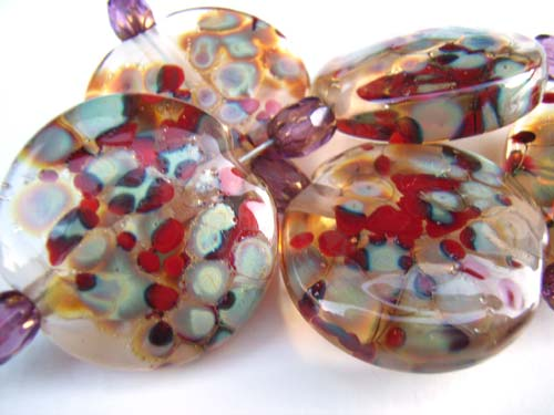 Confetti - Ian Williams Artisan Glass Lampwork Beads