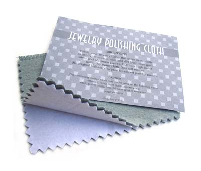 "Medium 8""x5"" - 20x13cm Jewellery Cleaning Polishing Cloth x1"