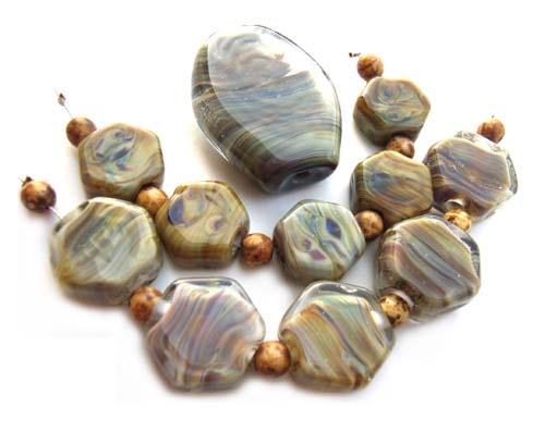 Leto - Ian Williams Artisan Glass Lampwork Beads