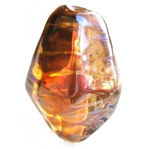 Apollo - Sun Stones - Ian Williams Artisan Glass Lampwork Beads