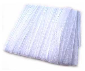Organza Ribbon 3mm ~ White 5m