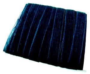 Organza Ribbon 6mm ~ Black 5m