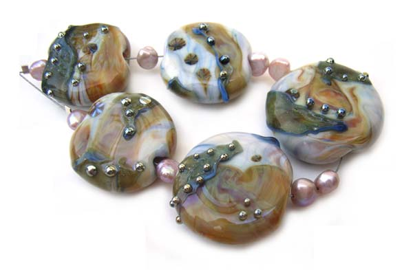 TIASA - Ian Williams Artisan Glass Lampwork Beads