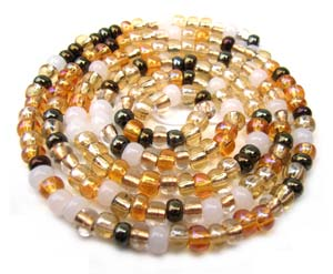 Czech Seed Beads 6/0 Honey Butter 1 mini Hank