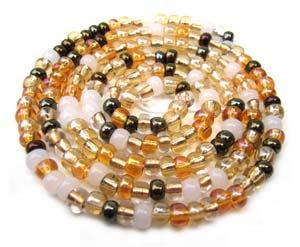 Czech Seed Beads 6/0 Honey Butter 1 mini Hank