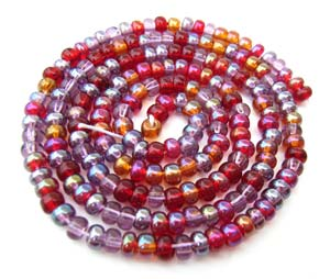 Czech Seed Beads 6/0 Vineyard 1 mini Hank