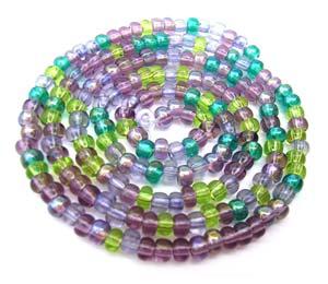Czech Seed Beads 6/0 Lavender Garden 1 mini Hank