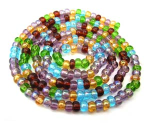 Czech Seed Beads 6/0 Prairie 1 mini Hank