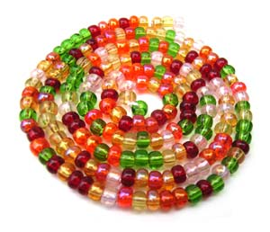 Czech Seed Beads 8/0 Tango 1 mini Hank