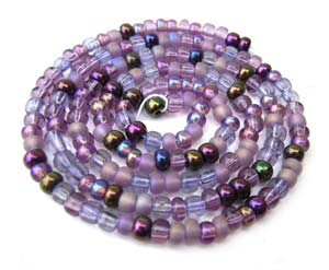 Czech Seed Beads 8/0 Lilac 1 mini Hank