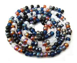 Czech Seed Beads 6/0 Pebblestone 1 mini Hank