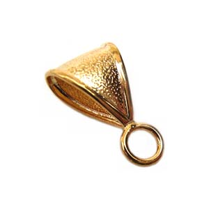 Bail 11mm Gold Plated x1