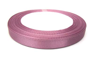 Satin Ribbon 10mm - Dusk Rose 25yd roll - 22.85m