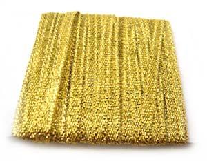 Metallic Ribbon 12mm - Gold 3m