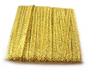 Metallic Ribbon 3mm - Gold 5m