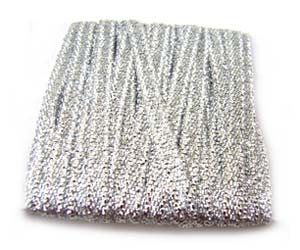 Metallic Ribbon 12mm - Silver 3m