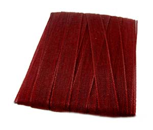 Organza Ribbon 6mm - Claret 5m