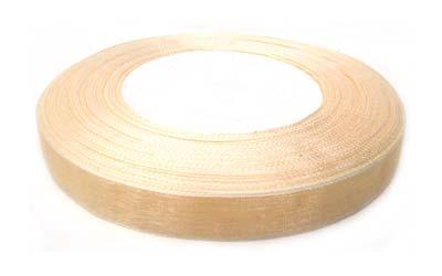 Organza Ribbon 12mm - Cream 50yd roll - 45m