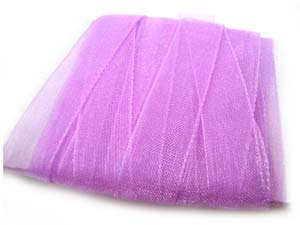 Organza Ribbon 10mm - Violet 5m