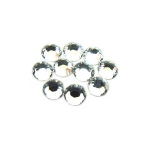 Swarovski Crystal Flatback Rhinestones (No Hotfix) 1.8mm Crystal x10