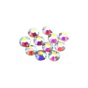 Swarovski Crystal Flatback Rhinestones (No Hotfix) 1.8mm Crystal AB x10